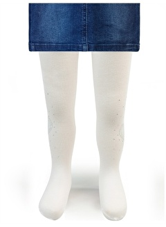 Katamino Katamino Kız Çocuk Külotlu Çorap 1-9 Yaş Ekru Katamino Kız Çocuk Külotlu Çorap 1-9 Yaş Ekru